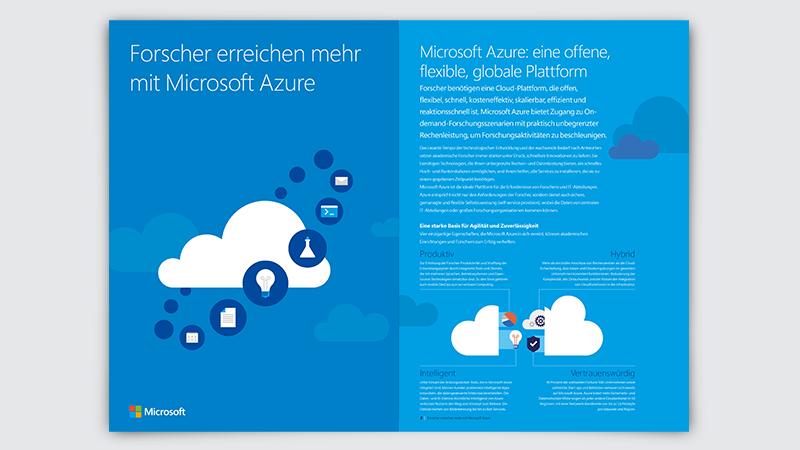 Abbildung des Microsoft Azure-Leitfadens, der kostenlos heruntergeladen werden kann
