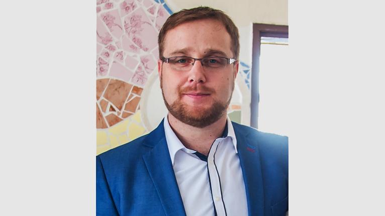 foto Petera Palla, učitele biologie, který ve svých lekcích využívá Minecraft: Education Edition