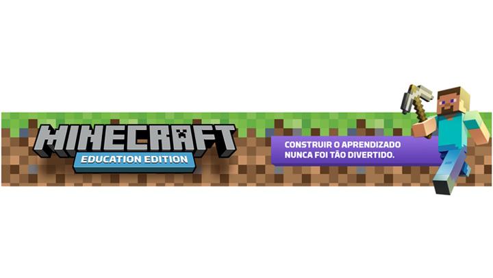 Minecraft para a educação, explore um novo mundo para o aprendizado