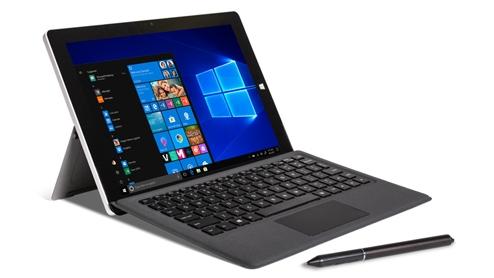 Terra Pad 1062 •10.8-Zoll Bildschirm •Intel® Atom™ x5-Z8350 Processor •4 GB Arbeitsspeicher, 64 GB Festplatte •Windows 10 Pro Betriebssystem