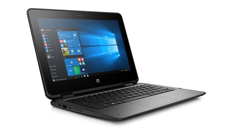 HP ProBook x360 11 G1 EE • 11.6-inch HD scherm • Intel® Pentium® N4200 processor met Quad core.  • 4 GB geheugen