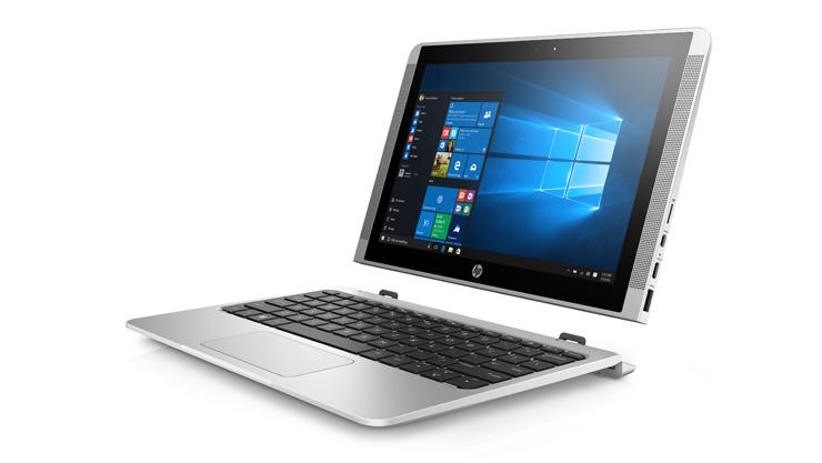 HP x2 210 G2  •10.1 polegadas(1280x800) •Processador Intel® Atom™ x5-Quad Core