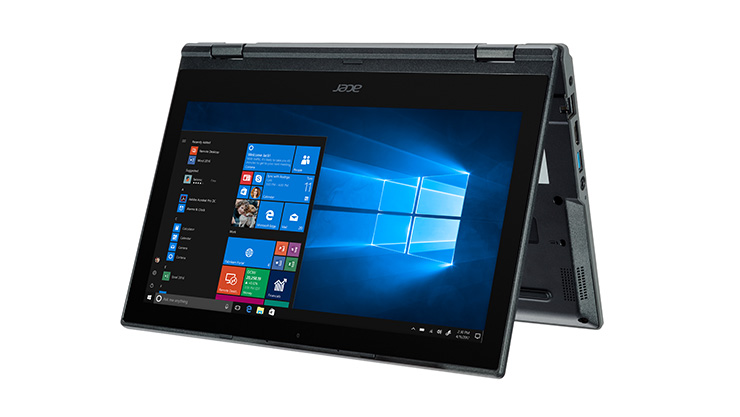Acer TravelMate Spin B118-RN - ERP £319 excl. VAT • 11.6-inch screen display