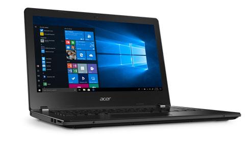 Acer TravelMate B1/B114 •14-inch HD scherm •Intel® AMD® A4-9120c processor met Dual Core