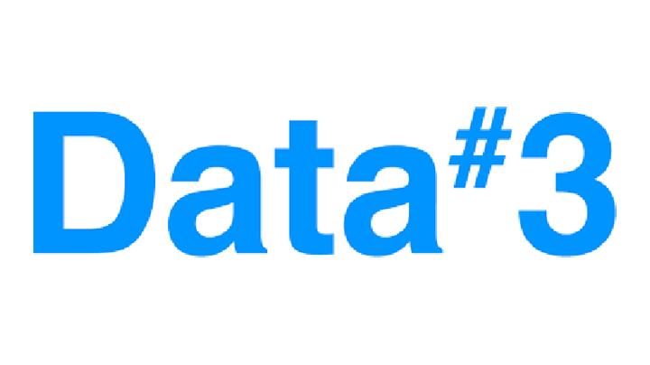 Logo for Data#3, a Microsoft Surface re-seller