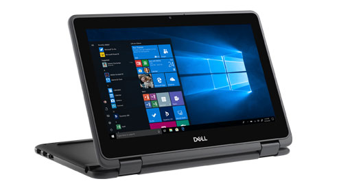 Dell Latitude 3190 2-in-1 •	11.6-inch HD scherm •	Intel® Celeron® N4100 of Pentium® 5000 processor met Quad Core