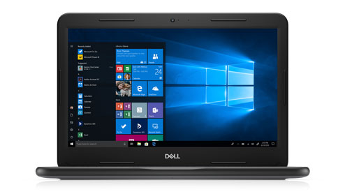 Dell Latitude 3300 •	13-inch HD scherm •	Intel® Core® i3-7020U processor met Dual Core    •	4 GB geheugen •	128 GB opslag •	OS: Windows 10 Pro StF