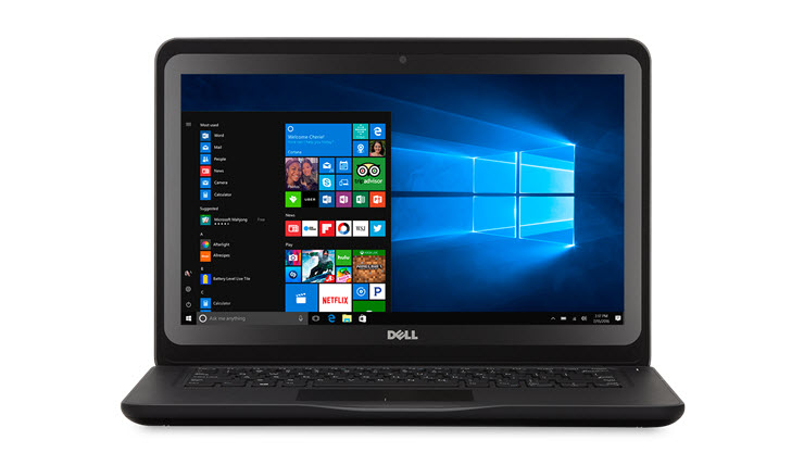 Dell Latitude 3190 •	11.6-inch HD scherm •	Intel® Celeron® N4100 of Pentium® 5000 processor met Quad Core