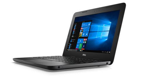 En bild av en Dell Latitude 3180 bärbar enhet