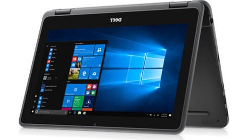 Dell Latitude 3190 2-in-1 •11.6-inch HD screen •2-in-1 vorm laptop & tablet •Intel® Celeron® N4100 of Pentium® 5000 processor met Quad Core.