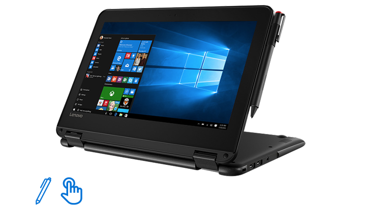 Lenovo 300e Windows device for accessible learning.