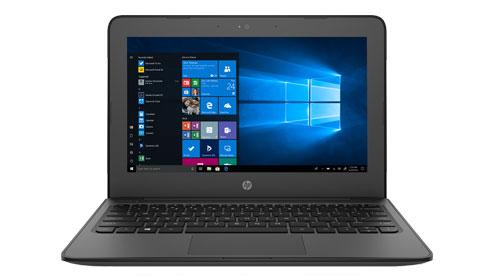 HP Stream 11 Pro G4 EE •11.6-inch HD taille de l'écran •Intel® Celeron® N3350 / N3450 processor avec Dual ou Quad core