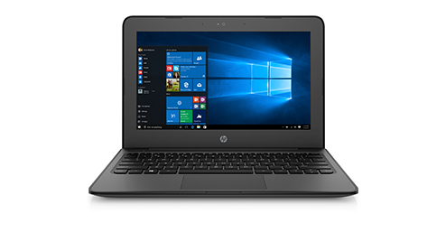 HP Stream 11 Pro G4  Notebook laptop •	Software: Windows 10 Pro NA StF