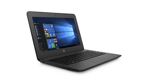 En bild av en HP Stream 11 Pro G4 EE bärbar enhet