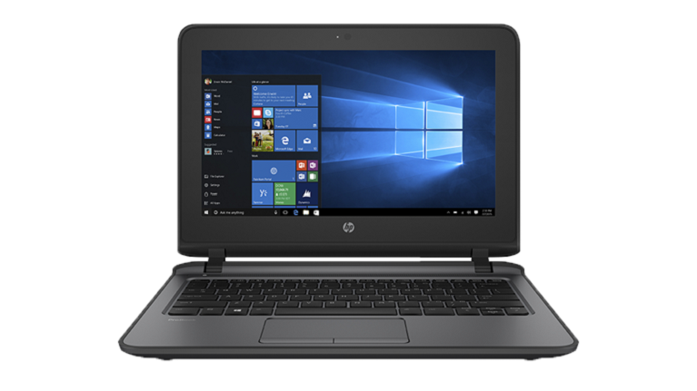 A photograph of the HP ProBook 11 G2 EE device.