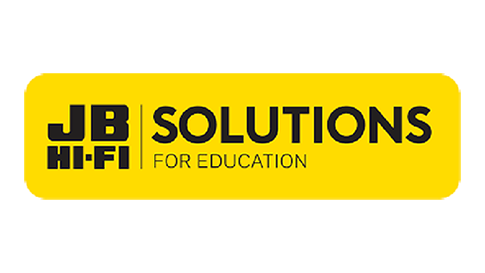 Logo for JB Hi-Fi Solutions for Education, a Microsoft Surface re-seller