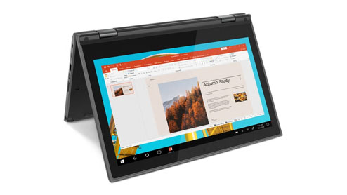 "Lenovo 300e Gen2 • 4 GB • Windows 10 Pro • 11.6"" HD"