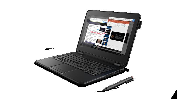 Lenovo 300e Desde 410€ • Pantalla HD Tactil de 11,6 pulgadas