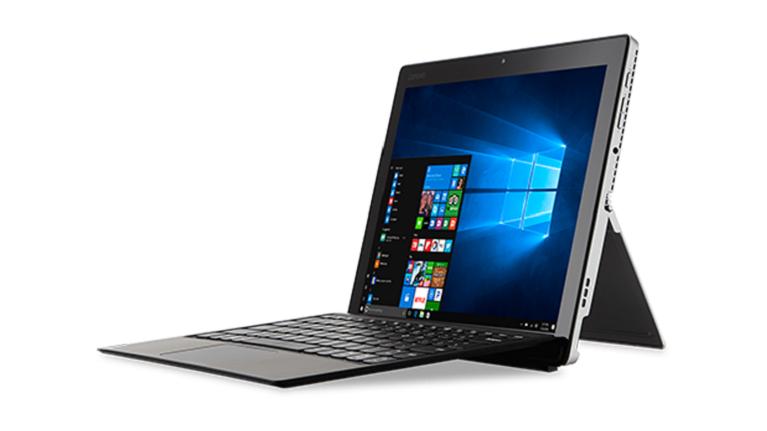 A photograph of the Lenovo IdeaPad Miix 720 device.