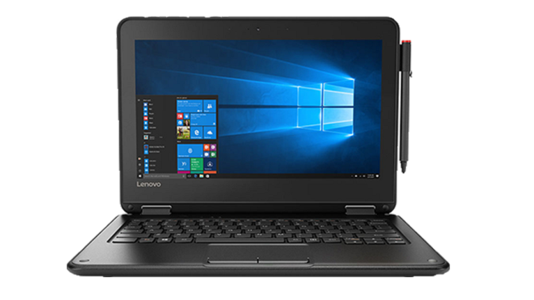 A photograph of the Lenovo N24 laptop device.