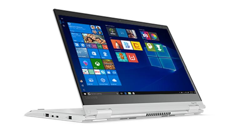 A photograph of the Lenovo Thinkpad Yoga 370 device.