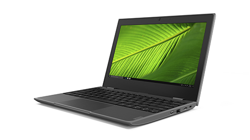 Lenovo 100e  Bærbar datamaskin •	Software: Windows 10 Pro eller Windows 10 Pro S