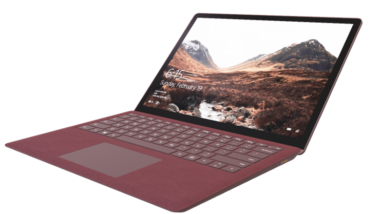 This is an image of the Microdoft Surface Laptop