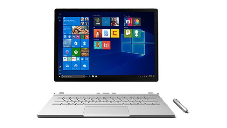 Image of a Microsoft Surface Pro Book 2 laptop device