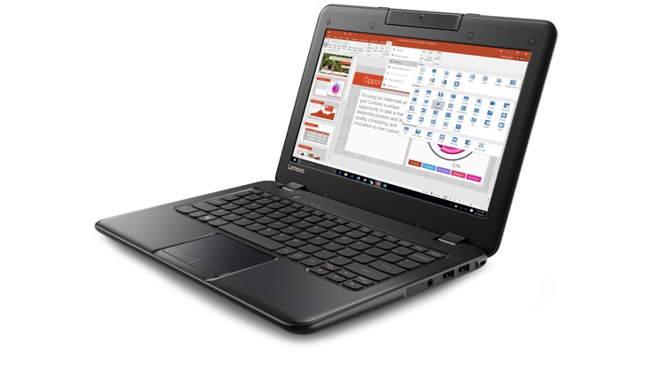 Windows dispositivo Lenovo 100 E desde $219 USD.