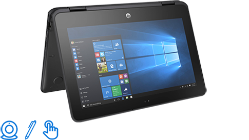 This is an image of the HP ProBook x360 11 G1 Education Edition