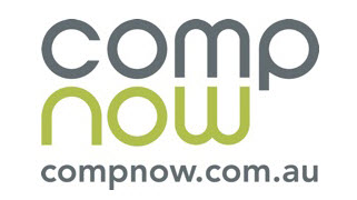 Logo for CompNow, a Microsoft Surface reseller