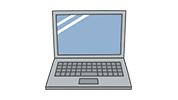 本体とキーボードが一体になっているタイプ 本体とキーボードが一体になっているタイプ<br />